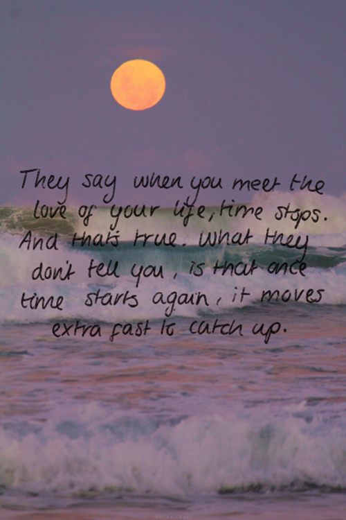 Time is going too fast quotes