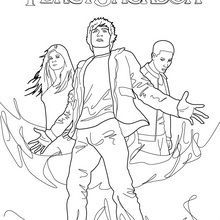 Percy Jackson Related Percy Annabeth Chase And Grover Underwood Coloring Books Percy Jackson Coloring Pages To Print