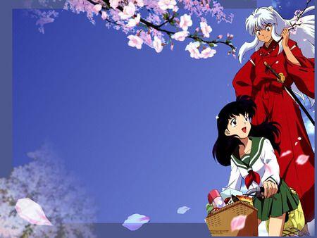 Cherry Blossom Trip Inuyasha Wallpaper Id 262747 Desktop