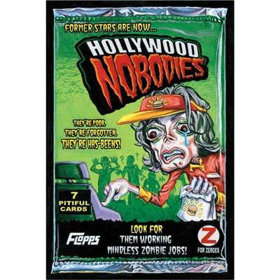Hollywood Nobodies Topps Wacky Packages Wall Graphics