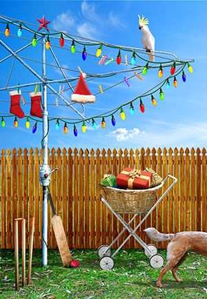 Aussie christmas backyard cricket google search aussie christmas unique australian christmas cards showing the reality of christmas in the summer the outback tropics surfing beach prawns on the bbq cricket m4hsunfo Choice Image