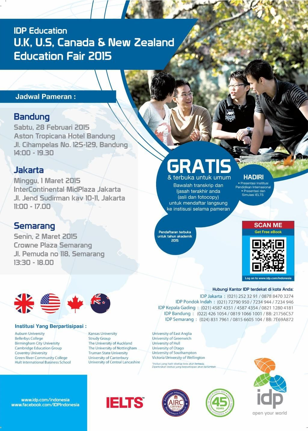 Pin by IDP Education Ltd (BandungIndonesia) on Study in