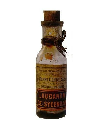 Laudanum Bottle Vintage Medical The