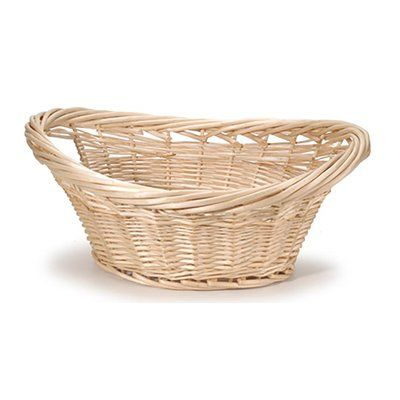Darby Home Co Cottage Willow Wicker Laundry Basket Wicker