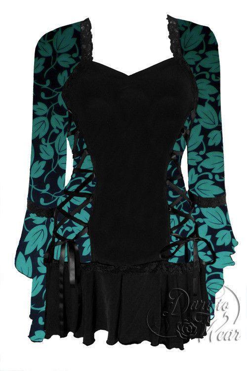 00f2ea1f903 Details about Dare to Wear Victorian Gothic Plus Size Bolero Corset ...