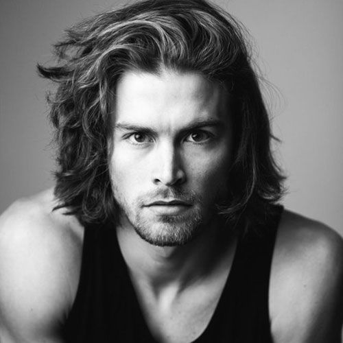 Cool 55 Charming Shoulder Length Hairstyles For Men Check More At Http Machohairstyles