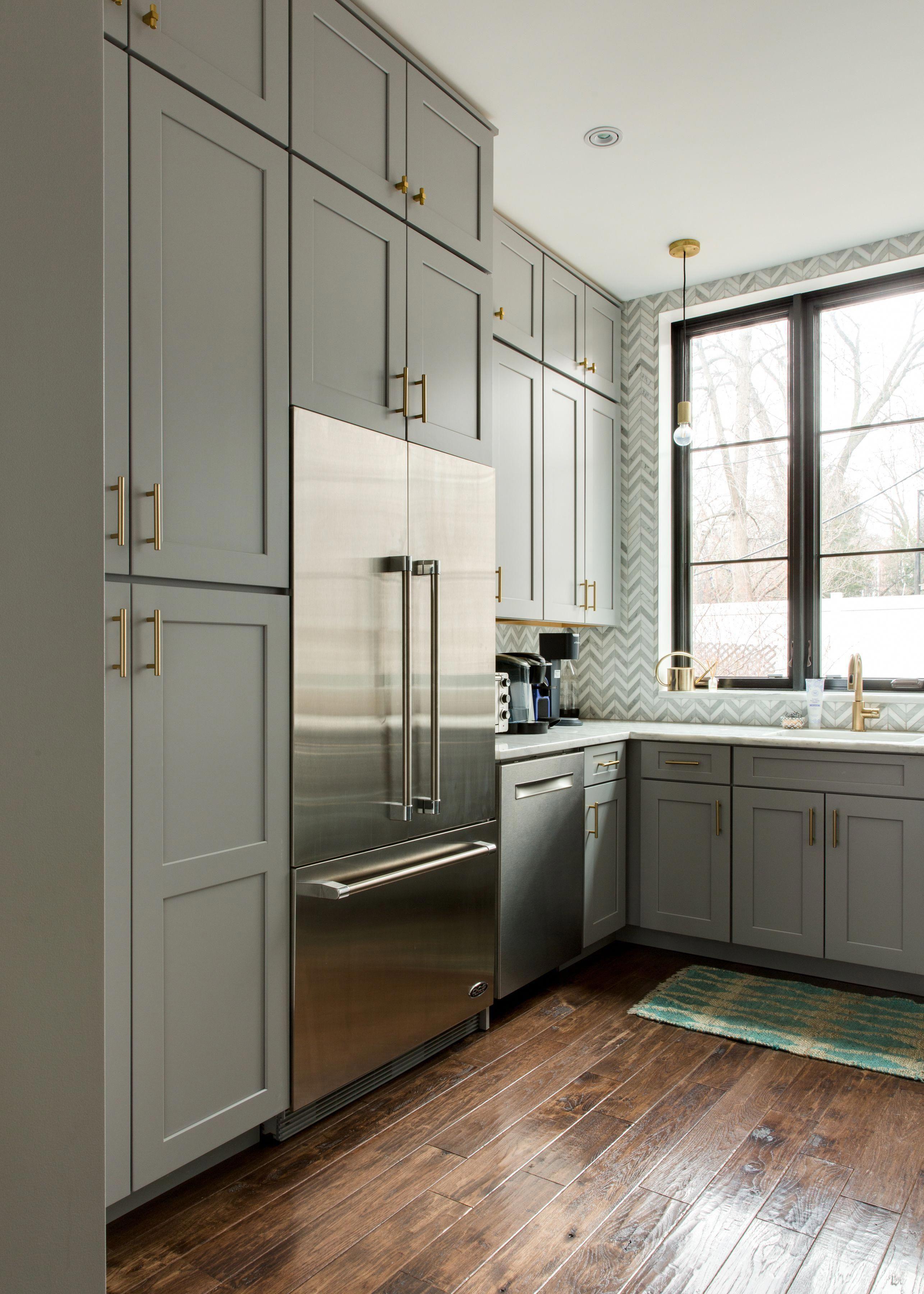 Modern Floor To Ceiling Kitchen Cabinets