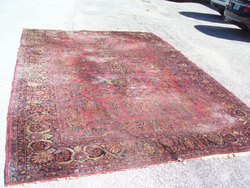 Antique OREINTAL Oversize RUG 10 by 15 rug for sale $1400 plus $150 ...