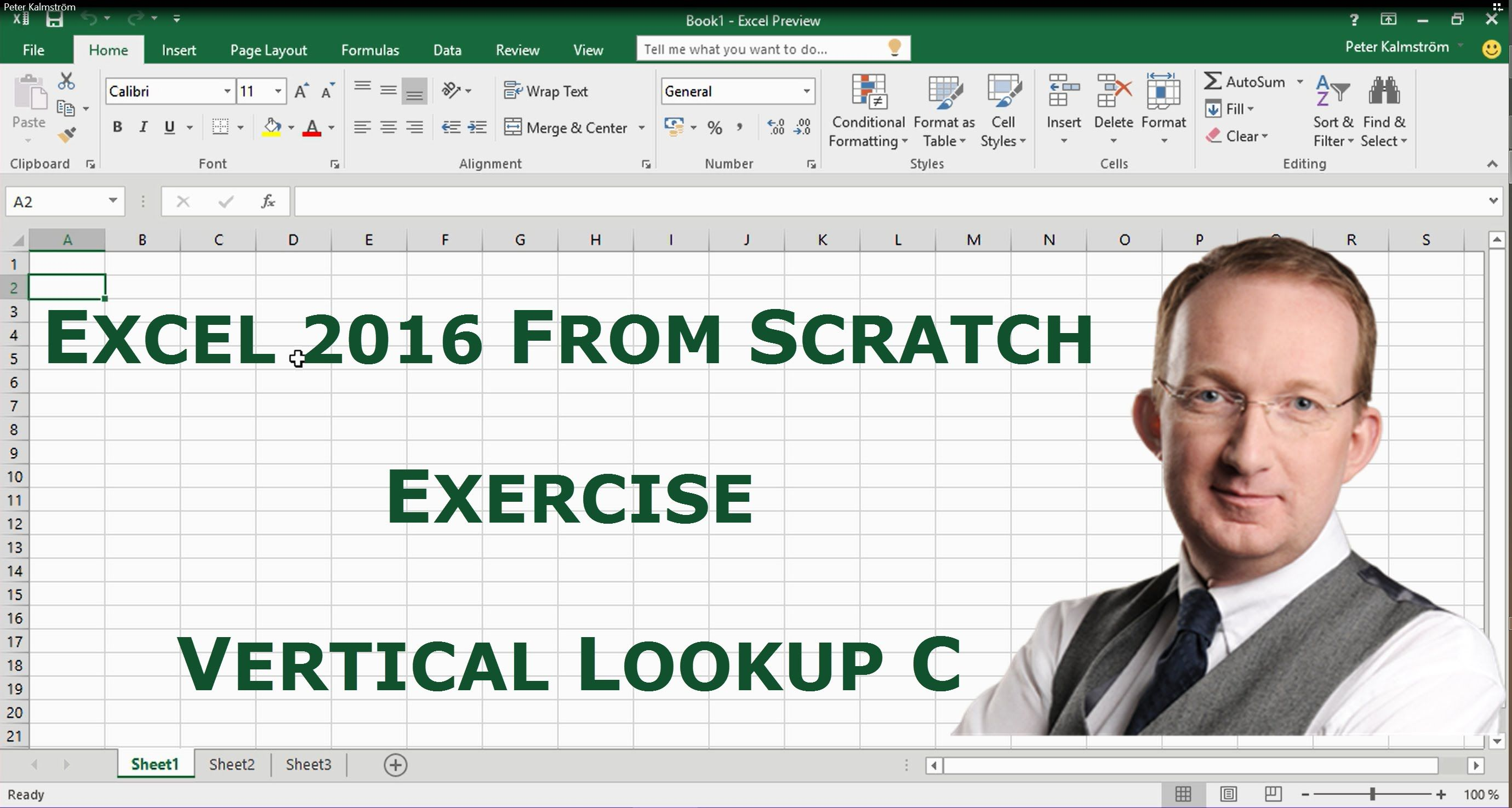 Pin P Excel From Scratch