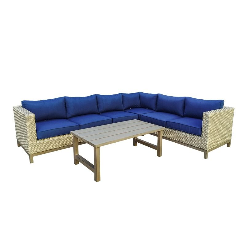 Maui 5 Pc Sectional Set   Furniture and Mattress Outlet