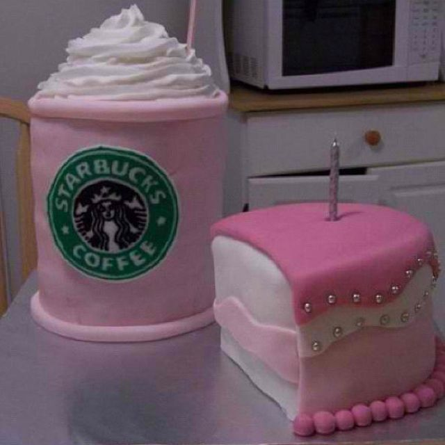 Starbucks Cake SwEEtTreaTs Pinterest Starbucks Cake and