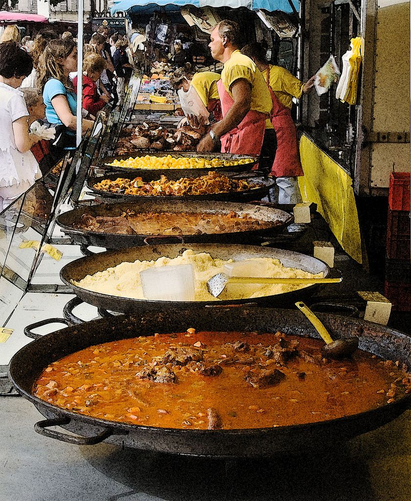 Open Market Couscous Interesting Pinterest Street Food Open