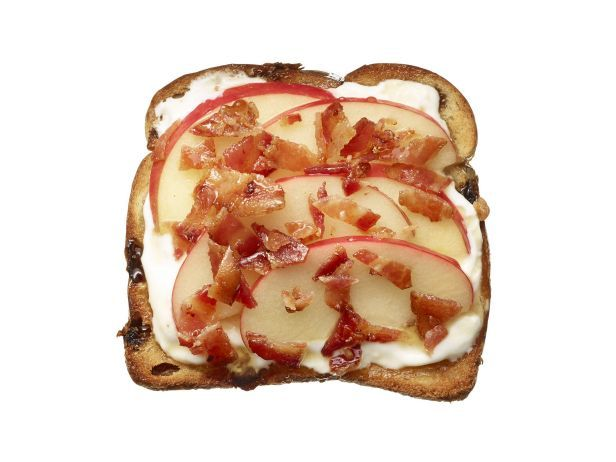 50 Toasts Food network recipes, Bacon toast recipe, Food