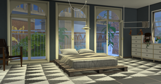 Gravity Windows and Doors by minc7878 Sims 4 CC's