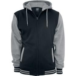 Photo of Urban Classics 2-Tone Zip Hooded Jacket Urban Classics