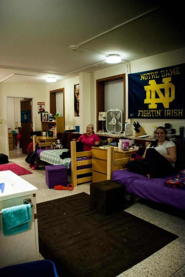 Regina Quad Saint Marys College Residence Hall Dorm Life