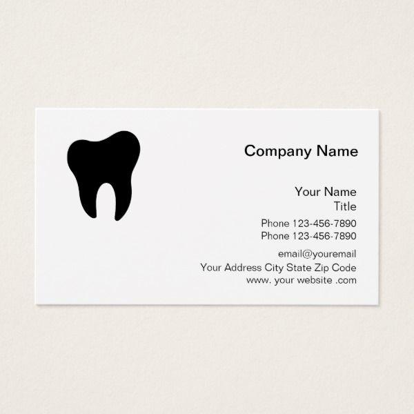simple design business office. Dentist Office Simple Design Business Card Custom Supplies #business #logo #branding S