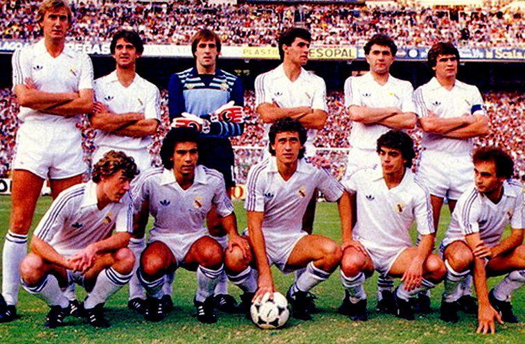 REAL MADRID 19801990 Fotos de fútbol, Real madrid y