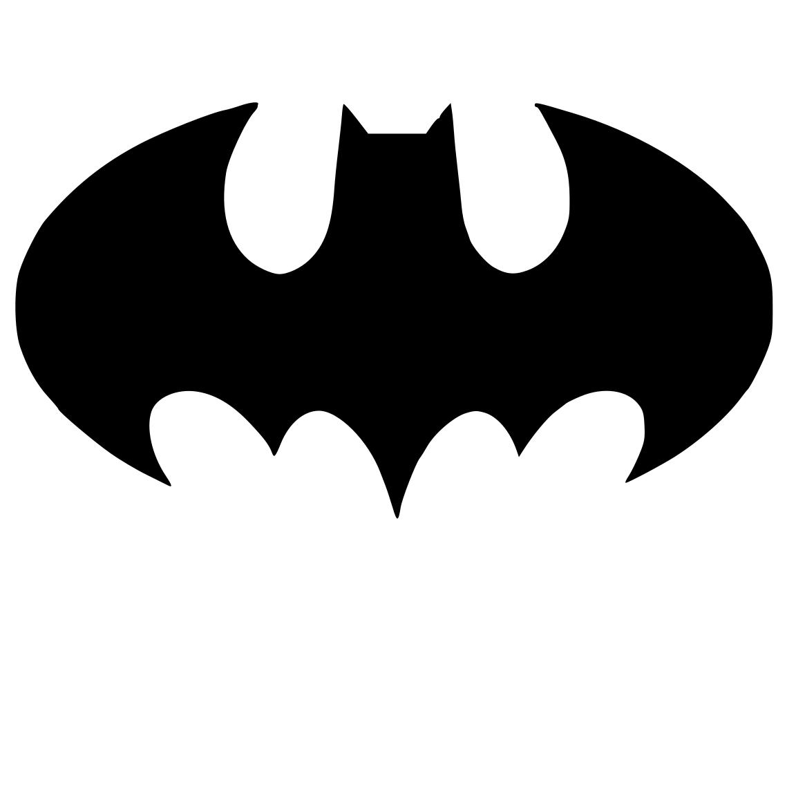 Cutting Files for You: Batman | Crafts | Pinterest ... Batman Silhouette