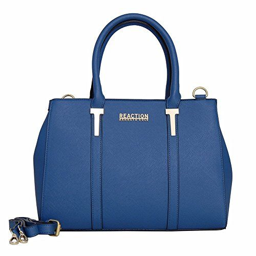 Kenneth Cole Reaction KN1860 Triple Entry Harriet Satchel Handbag (SEAGLASS) See More: http://amzn.to/2ikUFnW