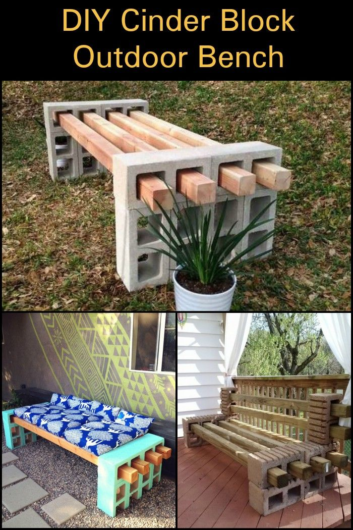 Need an outdoor bench in your backyard