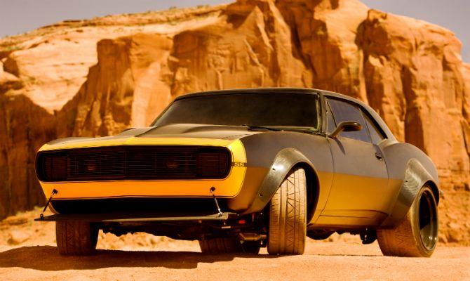 Camaro SS dos anos 1970