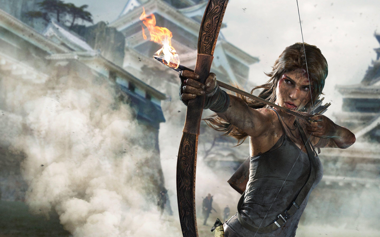 Tomb Raider Lara Croft  x Wallpaper
