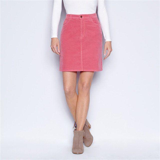 56241b434 Falda recta de pana stretch | F@LDAS | Faldas, Faldas rectas y Falda ...