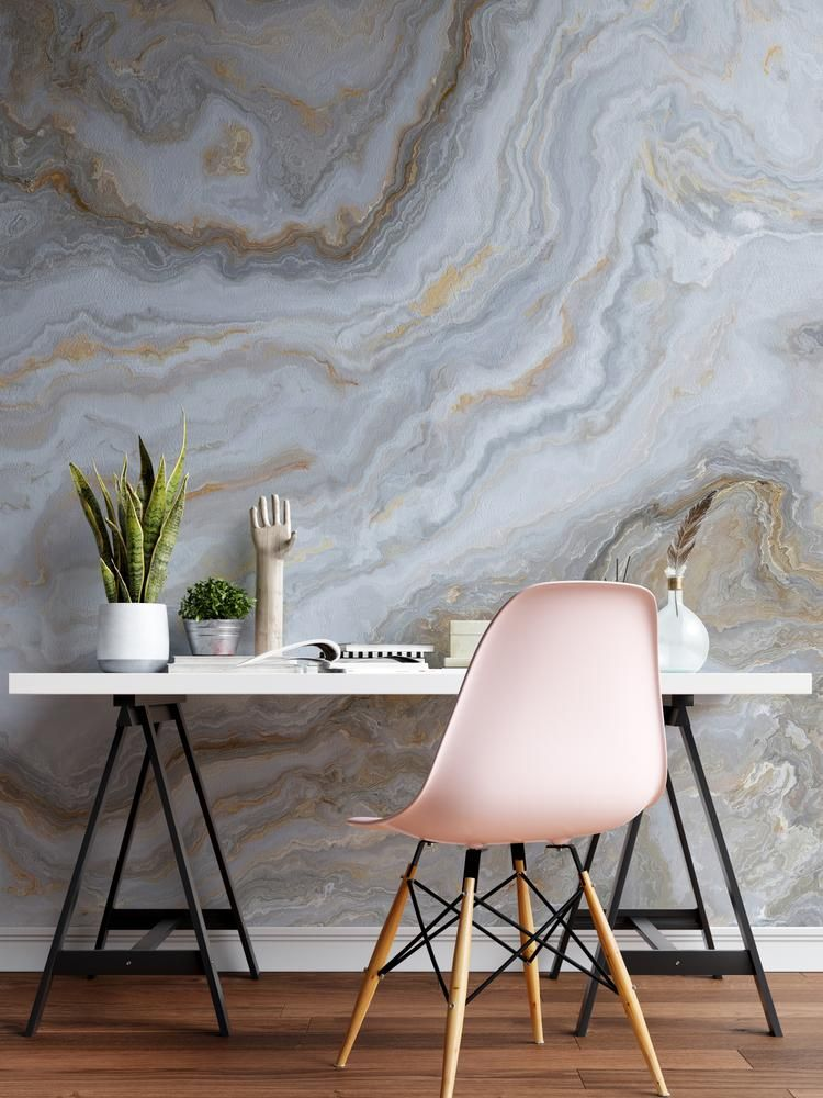 White Marble Stone Granite Slate Peel And Stick Wallpaper Removable Wall Mural 6180 Slate Wall Wall Murals Removable Wall Murals