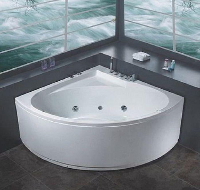 Modern White Corner Jacuzzi Bathtubs ~ http://lanewstalk.com ...