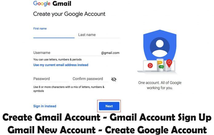 Create Gmail Account Gmail Account Sign Up Gmail New Account Create Google Account Techsovibe Google Account Tech Trends Accounting