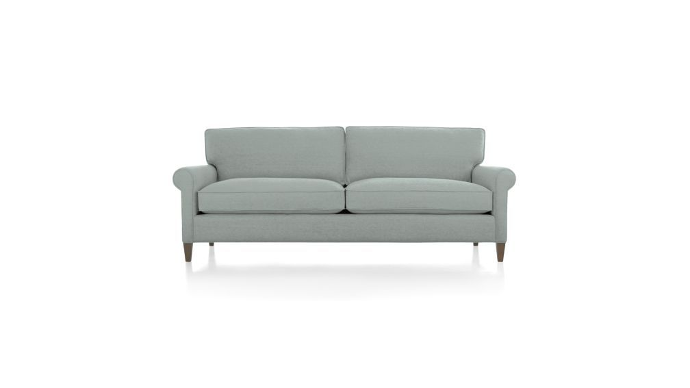 Montclair 2 Seat Sofa Crate And Barrel With Images Sofa