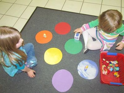 The color game in preschool
