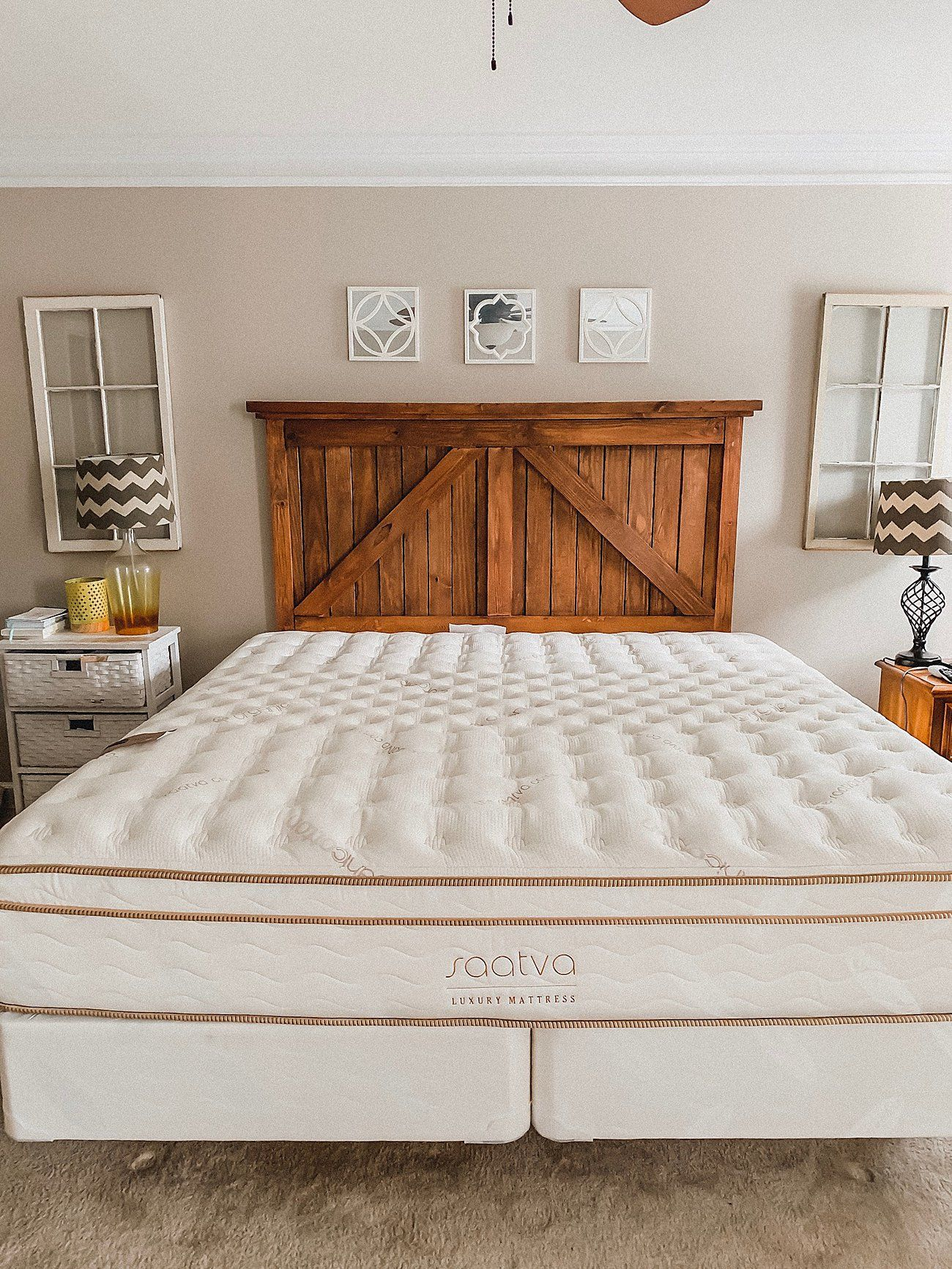 WE FINALLY GOT A KING BED!! SAATVA Mattress Review King