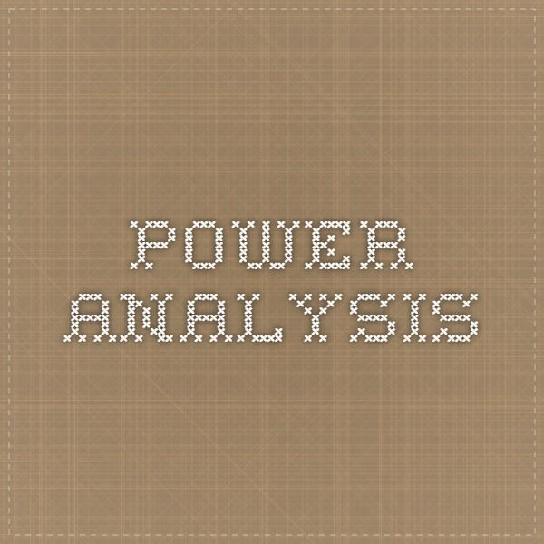 Power Analysi Calculation Help For Dissertation Student Researcher Research Method Writing Stat