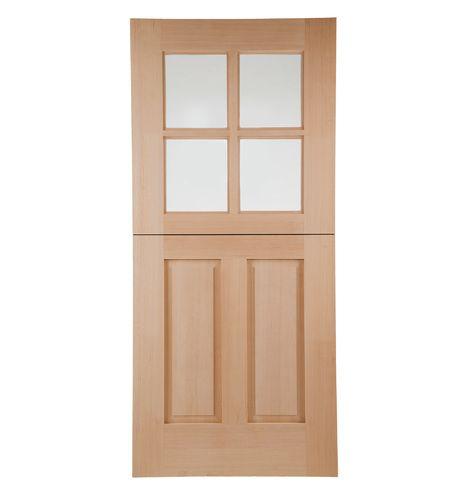 Hyde Prehung Exterior Dutch Door 1 3 4 Solid Douglas Fir C9990 Dutch Doors Exterior House Designs Exterior Exterior Design