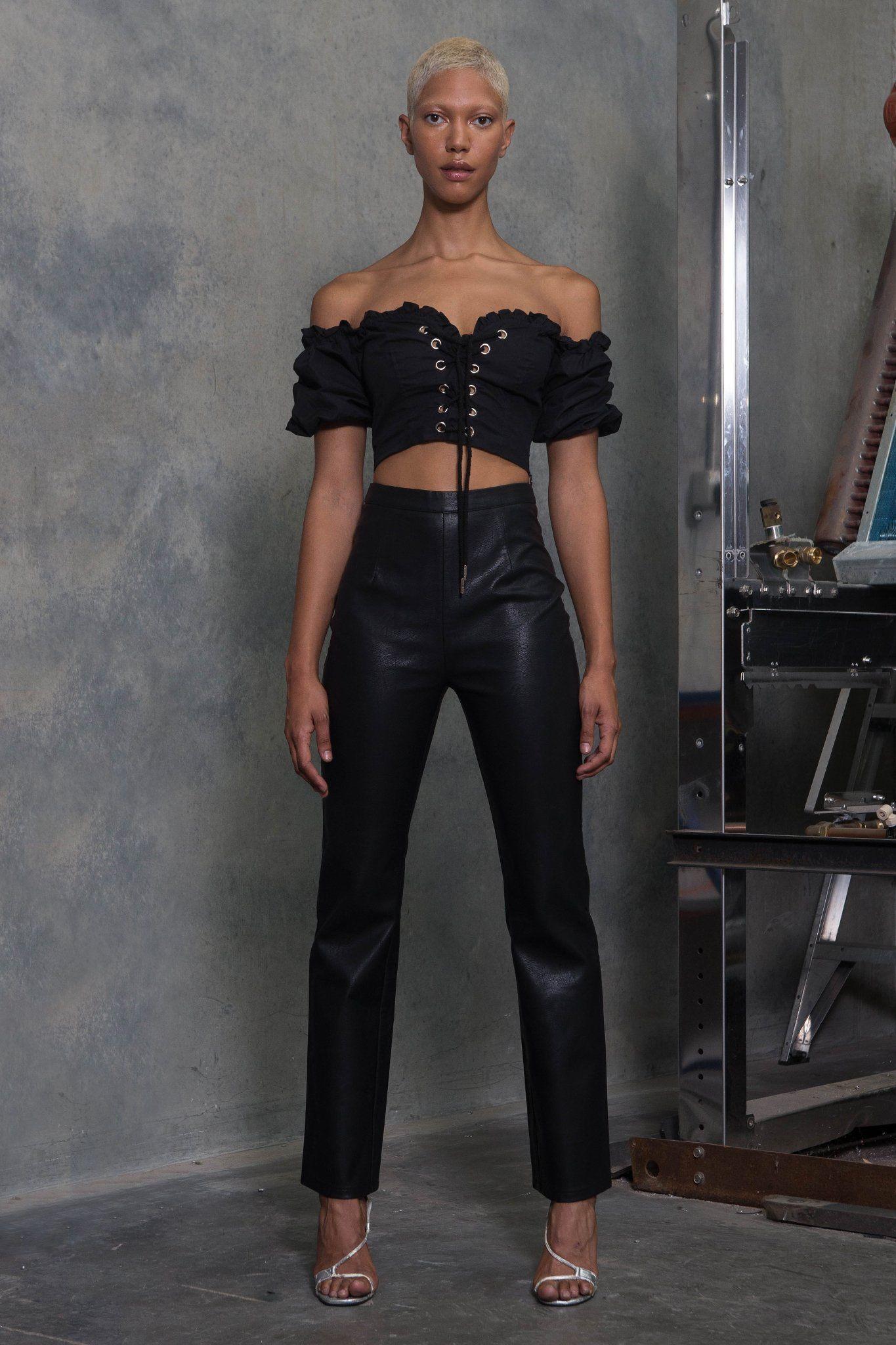 ALYA TOP BLACK I.am.gia, Fashion, Coat online