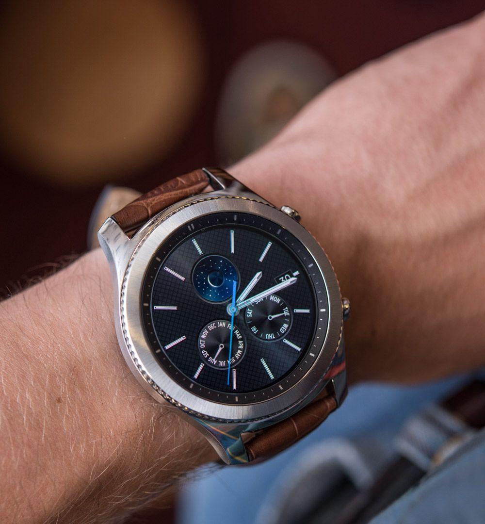 Samsung Gear S3 Frontier Classic Smartwatch Hands On Debut Ablogtowatch Samsung Gear S3 Frontier Samsung Gear Mobile Gear
