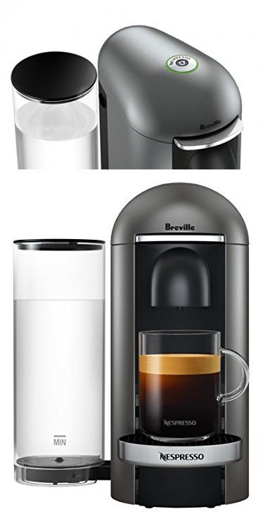 Breville BNV420TTN1BUC1 Nespresso Vertuo Plus Deluxe Coffee and