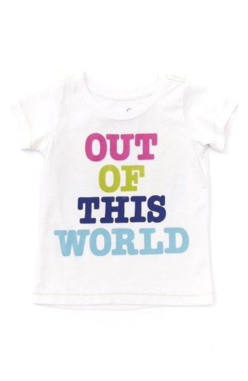 Peek 'Out of This World' Tee (Baby Girls) | Nordstrom