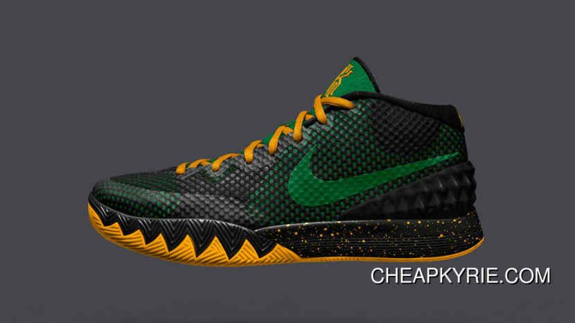 Outlet Nike Kyrie 1 Cheap sale iD Red Yellow