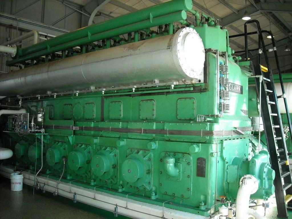 Clark TLA-8 Gas Compressor set.