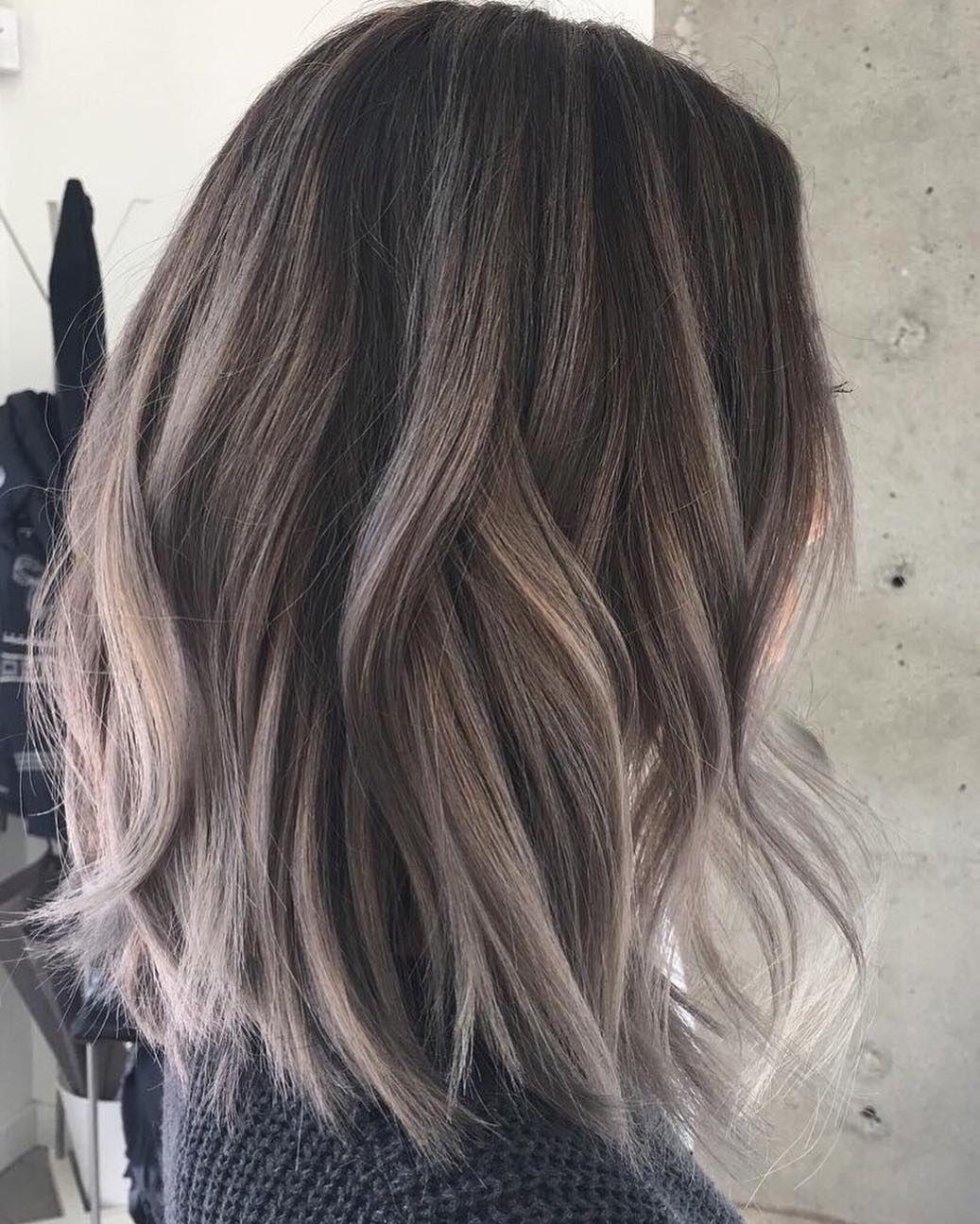 longitud media color del cabello cielo beige marrón mezclas