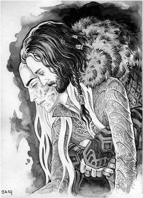 Thranduil Dragon Scar Art Related Keywords & Suggestions