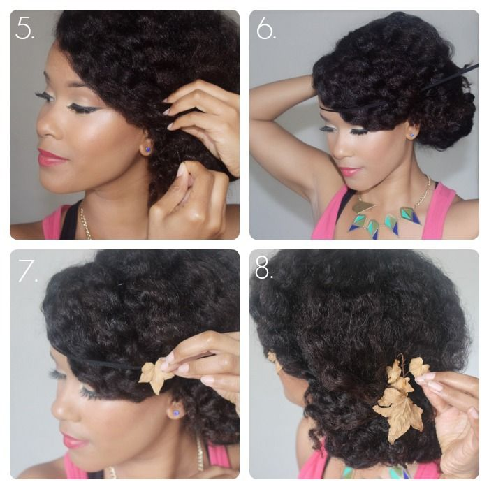 samantha harris chignon curly hair tutorial