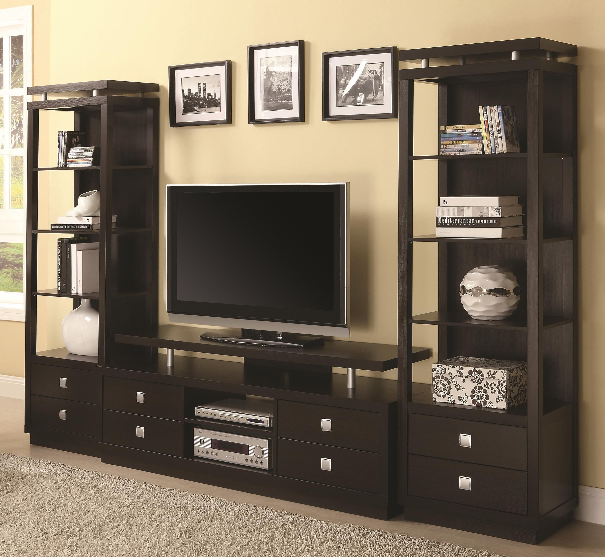 Furniture Design Wall Cabinet contemporary living room wall unit wooden. living room