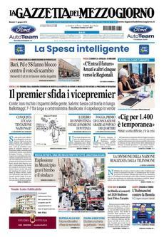 Prime Pagine Quotidiani Nazionali Giornalone Turismo Giornale Corpus Domini