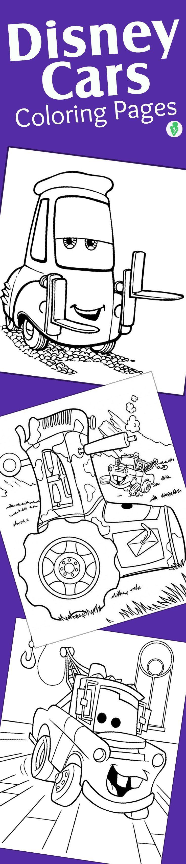 Top 10 Free Printable Disney Cars Coloring Pages Online | Páginas ...