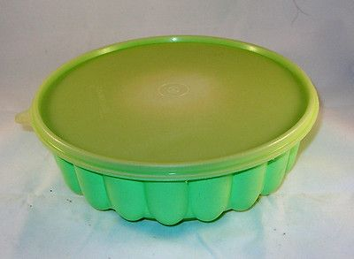 Tupperware Jello Mold Ice Ring 3 Piece Seafoam Green | eBay