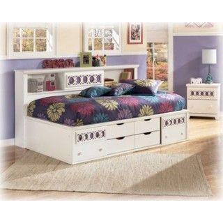 Zayley Twin Bed Dresser Mirror
